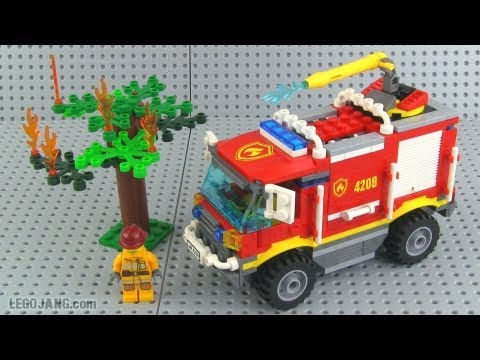 Lego City 4208 Fire Truck Review Youtube