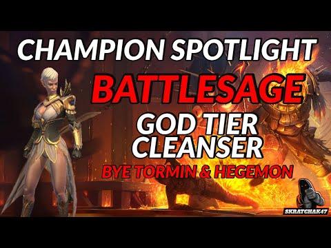 Battlesage | God Tier Cleanser | Champion Spotlight | Raid: Shadow Legends
