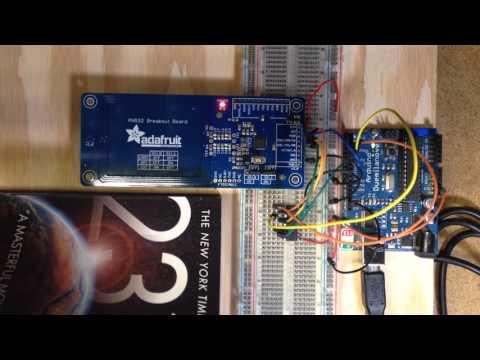 Adafruit NFC Controller Demo + Arduino