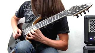 Mayones Regius 7 String Guitar - Mayones Guitar Demo by Ben Randall