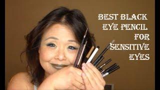 Best Black Eye Pencils for Sensitive Allergic Eyes  - 15 Tested!