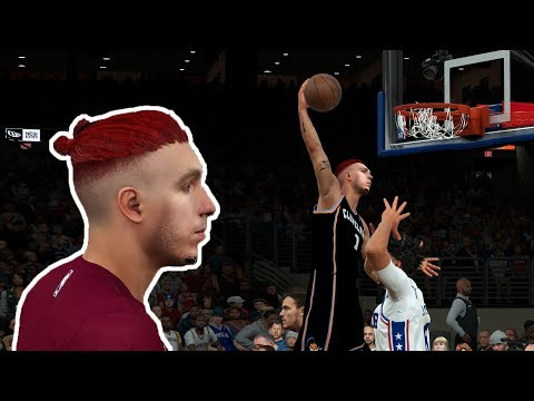 ¡ESTRENANDO CAMISETAS ALL STAR! - NBA 2K18 - Mi carrera - Ep. 79 - 동영상