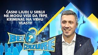 Boško Obradović - Časni ljudi u Srbiji ne mogu više da trpe kriminal na vrhu vlasti!