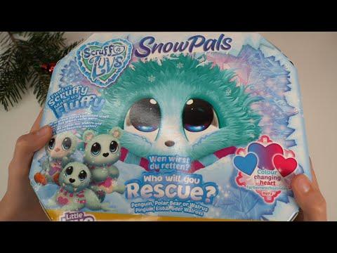 Распаковка пушистика потеряшки Scruff A Luvs - Snow Pals.#unpackingtoys
