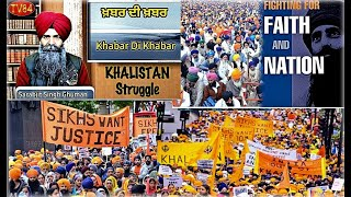 Khabar Di Khabar - Sikh nation will continue to fight for justice - Sarabjit Singh Ghuman