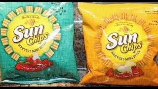 Sun Chips: Spring Veggie Medley & Four Cheese, Tomato & Herb Review