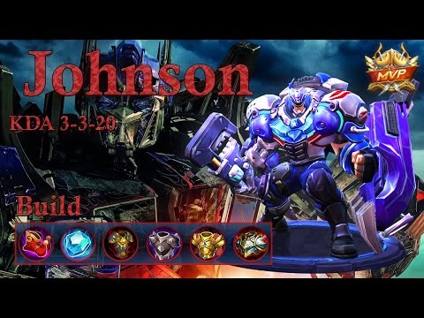 Mobile Legends: Johnson MVP, Here I Cooome!!! Best Tank?