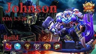 Mobile Legends: Johnson MVP, Here I Cooome!!! Best Tank?