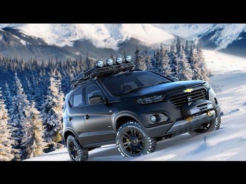 Шикарный тюнинг Нивы Шевроле Chevrolet Niva