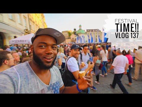 "Amazing Festival in KRAKOW, POLAND!    Vlog 137    ""Poland you never cease to amaze me"""