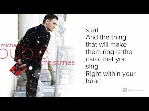 Michael Bublé - Its Beginning To Look A Lot Like Christmas - Lyrics