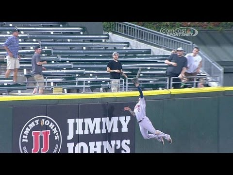 Barnes robs Dunn with terrific leaping grab