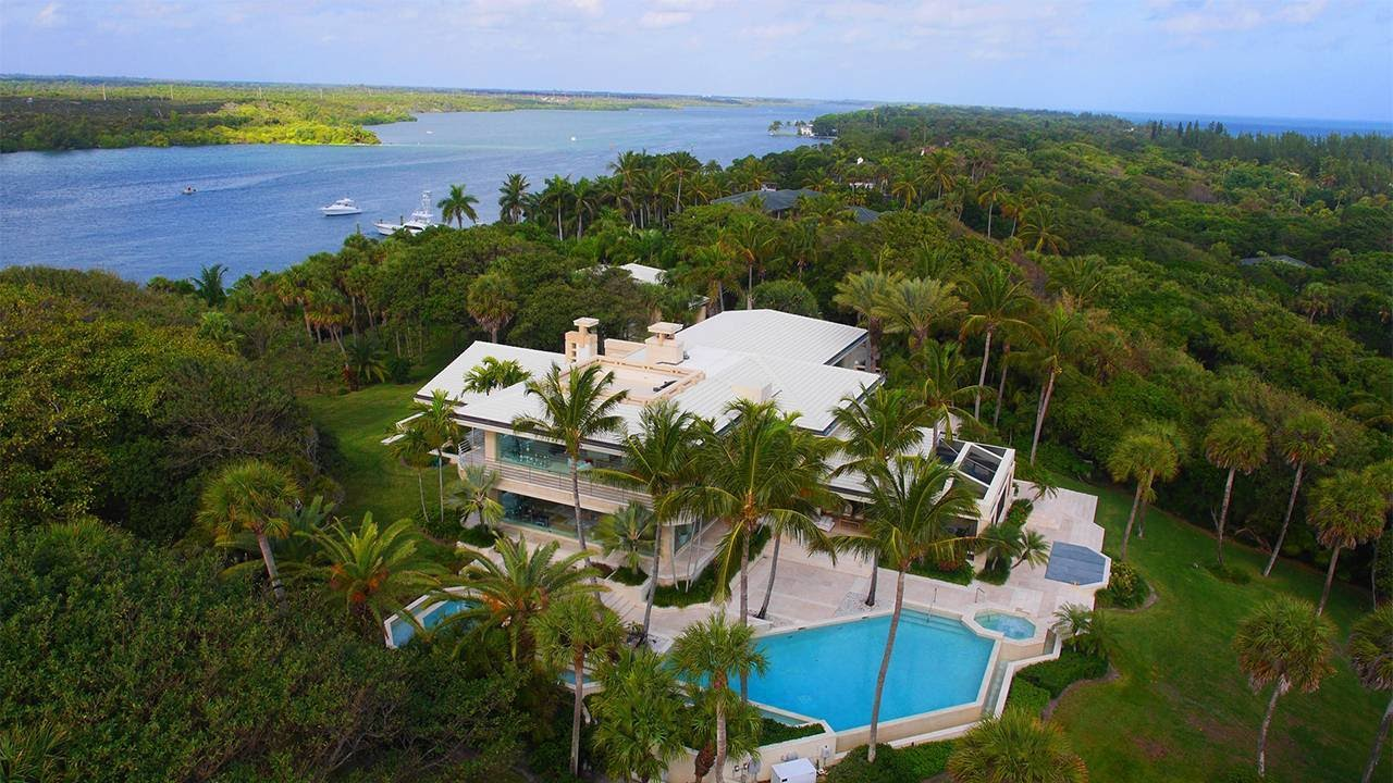 Where Is Jupiter Florida >> $38M Jupiter Island Home Sells to Liberty Media's John Malone - YouTube