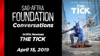 Conversations with Griffin Newman of THE TICK