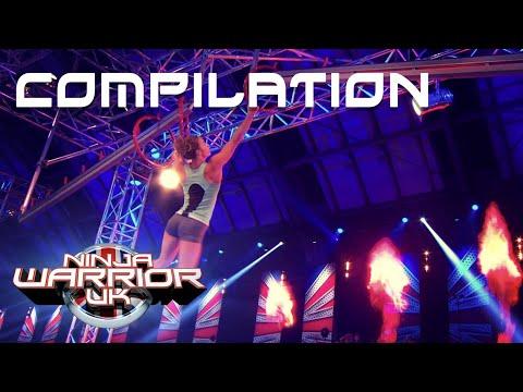 All Semi-Finalists' 2019 Runs Compilation | Ninja Warrior UK