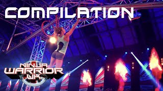 All Semi-Finalists' 2019 Runs Compilation | Ninja Warrior UK