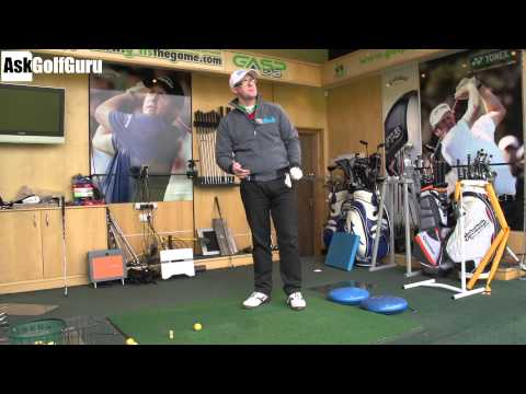 How I Change My Angle Of Attack Golf Lesson