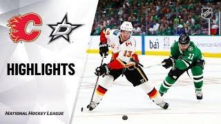 Flames @ Stars 10/10/19 Highlights
