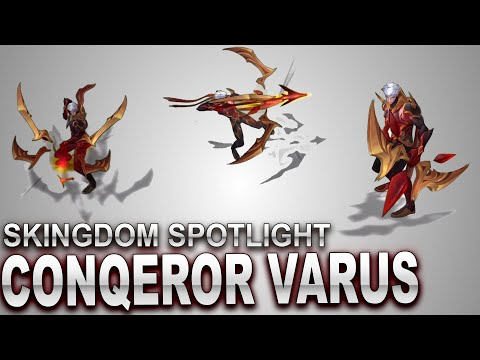 Conqueror Varus Skin Spotlight | SKingdom - League of Legends