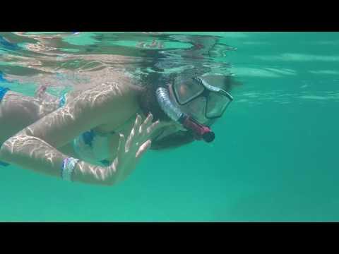 Snorkeling at paradise beach at Atlantis in Nassau, Bahamas 62517