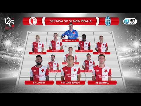 SESTAVA: Slavia - Mladá Boleslav