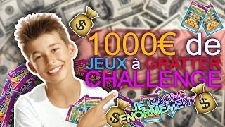 Je GRATTE 1000€ De JEUX à GRATTER CHALLENGE ! Je Suis GAGNANT De FOU !