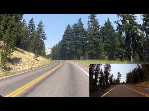 Cycling Crater Lake Loop