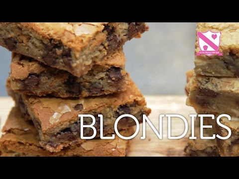 How to make Blondies - In The Kitchen With Kate