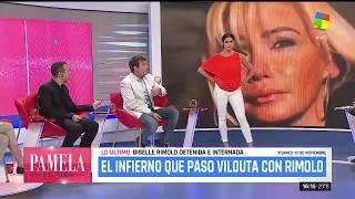 Paulo Vilouta fue víctima de Giselle Rímolo