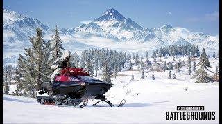 PUBG SNOW MAP LIVE | PUBG MOBILE PLAYER PLAYING PUBG PC