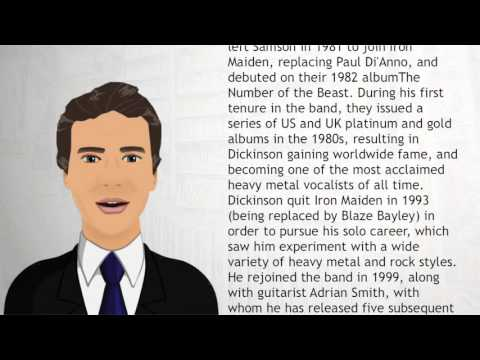 Bruce Dickinson - Wiki Videos