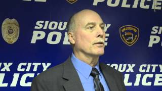 Sioux CIty police talk about Adrian Rojas Hernandez homicide Oct. 28, 2013