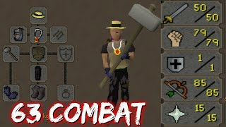 This account dominates in BH! - Low level 50 Attack Pure Pking [OSRS]