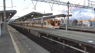 近鉄12410系12415編成新塗装+12200系特急鳥羽行き発車