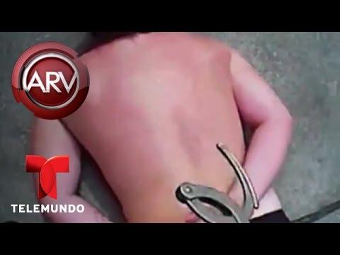 Al Rojo Vivo | Estudiante enfrenta policías en una universidad de Florida | Telemundo ARV