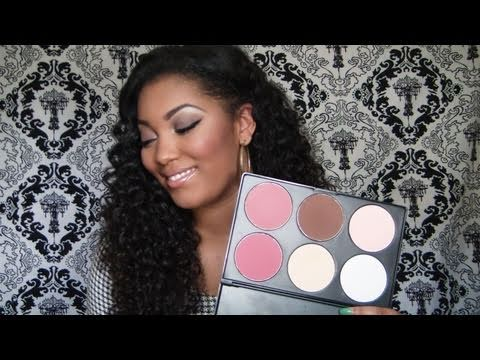 Makeup How To Contour Apply Blush Highlight For Beginners