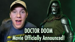 DOCTOR DOOM Movie Officially Announced!