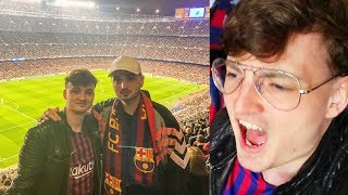 FC Barcelona - Manchester United 3-0   LEGENDÄRER STADIONVLOG   ViscaBarca