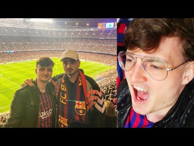 FC Barcelona - Manchester United 3-0 | LEGENDÄRER STADIONVLOG | ViscaBarca