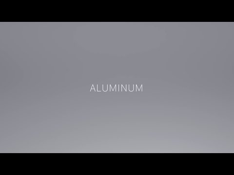 "Jony Ive says ""Aluminium"""