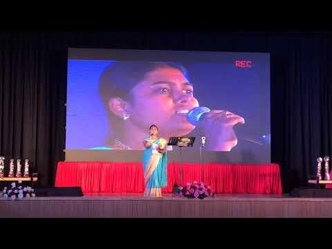 Shilegalu sangeethava hadive song singing by vidya ravi