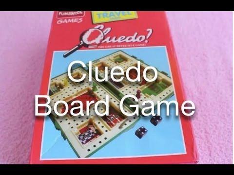 Cluedo Board Game Youtube