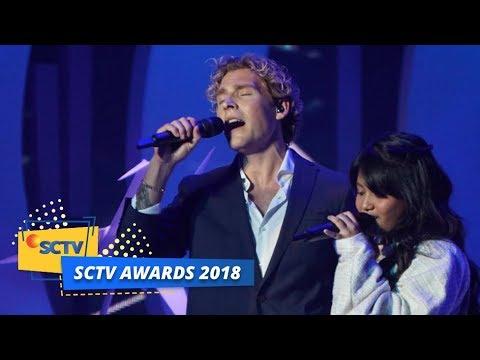 download PERTAMA KALI! Christopher feat Hanin Dhiya Menyanyikan Lagu Heartbeat | SCTV Awards 2018