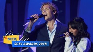 PERTAMA KALI Christopher feat Hanin Dhiya Menyanyikan Lagu Heartbeat SCTV Awards 2018 MP3
