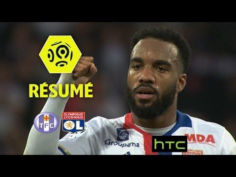 Toulouse FC - Olympique Lyonnais (1-2)  - Résumé - (TFC - OL) / 2016-17
