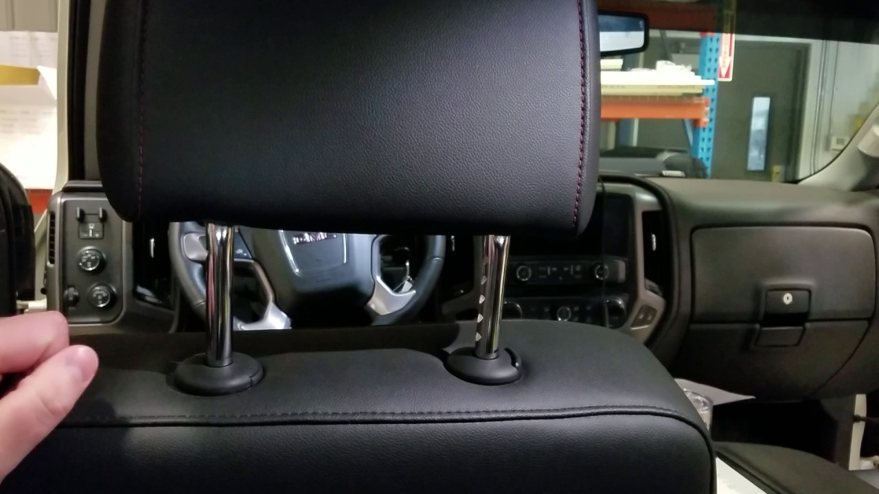 How to remove GMC/Chevy Headrests - YouTube