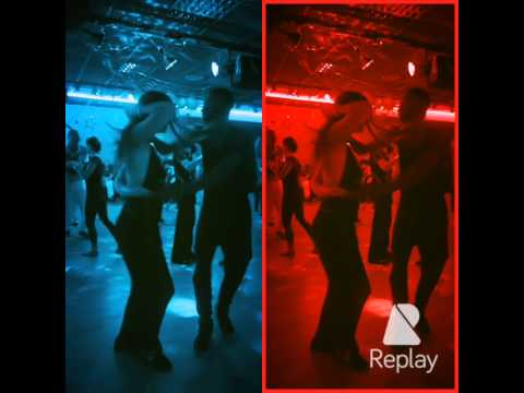 Boursine & Manon -- Salsa Improvisation à L'Olympiades -- Paris 13