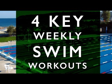 4 Key Weekly Swim Workouts with Dave Erickson, Wendy Mader