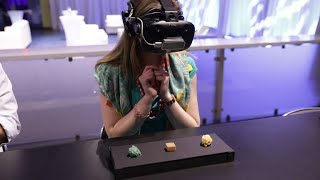 Eat food in VR aboard the cruise of the future