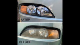 Installing New Headlights in an Older Class A Holiday Rambler Motorhome